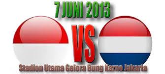 Indonesia Akan Menghadapi Belanda Dengan Tim Lengkap