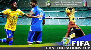 Unjuk Gigi Antara Balotelli Dan Neymar Di Laga Konfederasi