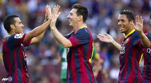 Barcelona Menang Telak Saat Melawan Levante