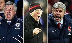 Ancelotti, Fergie dan Wenger Menerima Hadiah Dari UEFA