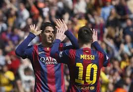 Suarez Dan Messi Berlomba Cetak Gol