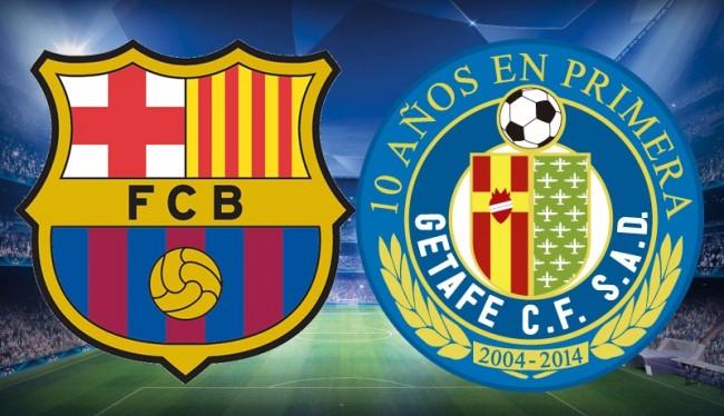 Prediksi Barcelona Vs Getafe 12 Maret 2016 Liga Spanyol