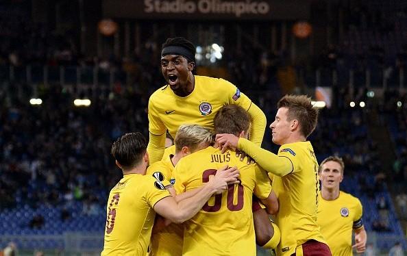 Sparta Praha Bungkam Lazio Tiga Gol