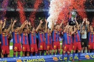 Barca Raih Trofi Juara La Liga Musim Ini