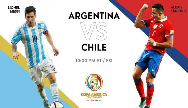 Prediksi Argentina Vs Cili 27 Juni 2016 Final Copa Amerika