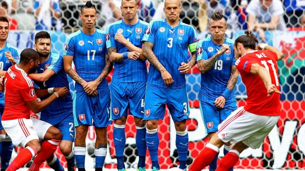 Wales Sukses Kalahkan Slovakia 2-1