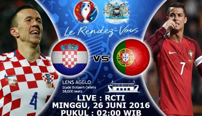 Prediksi Kroasia Vs Portugal 26 Juni 2016 Piala Europa