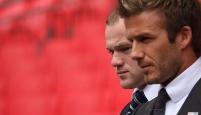 Rooney Diberi Saran Oleh Beckham Soal Timnas