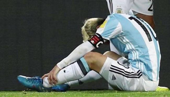 Messi Cedera Dan Absen Di Laga Berikutnya