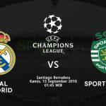 Prediksi Real Madrid Vs Sporting CP Liga Champions