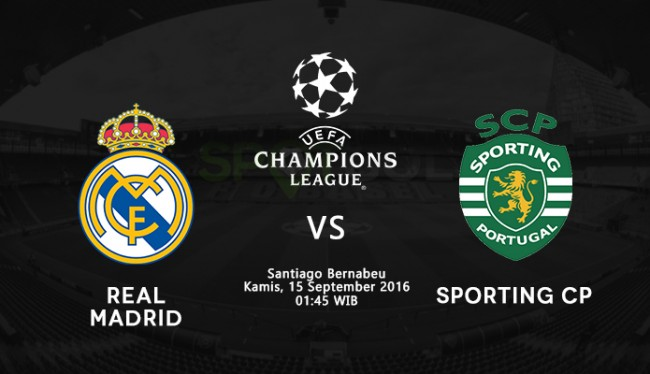 Prediksi Real Madrid Vs Sporting CP Liga Champions