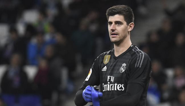 Courtois Sebut Tak Ada Di Madrid Yang Bicara Mengenai Ronaldo