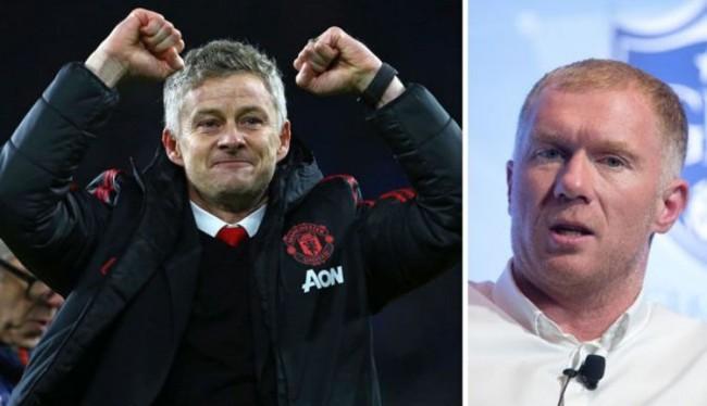 Paul Scholes Dukung Solskjaer Jadi Pelatih Permanen Manchester United